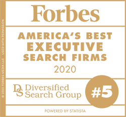 Forbes 2020 Best Staffing Firm logo