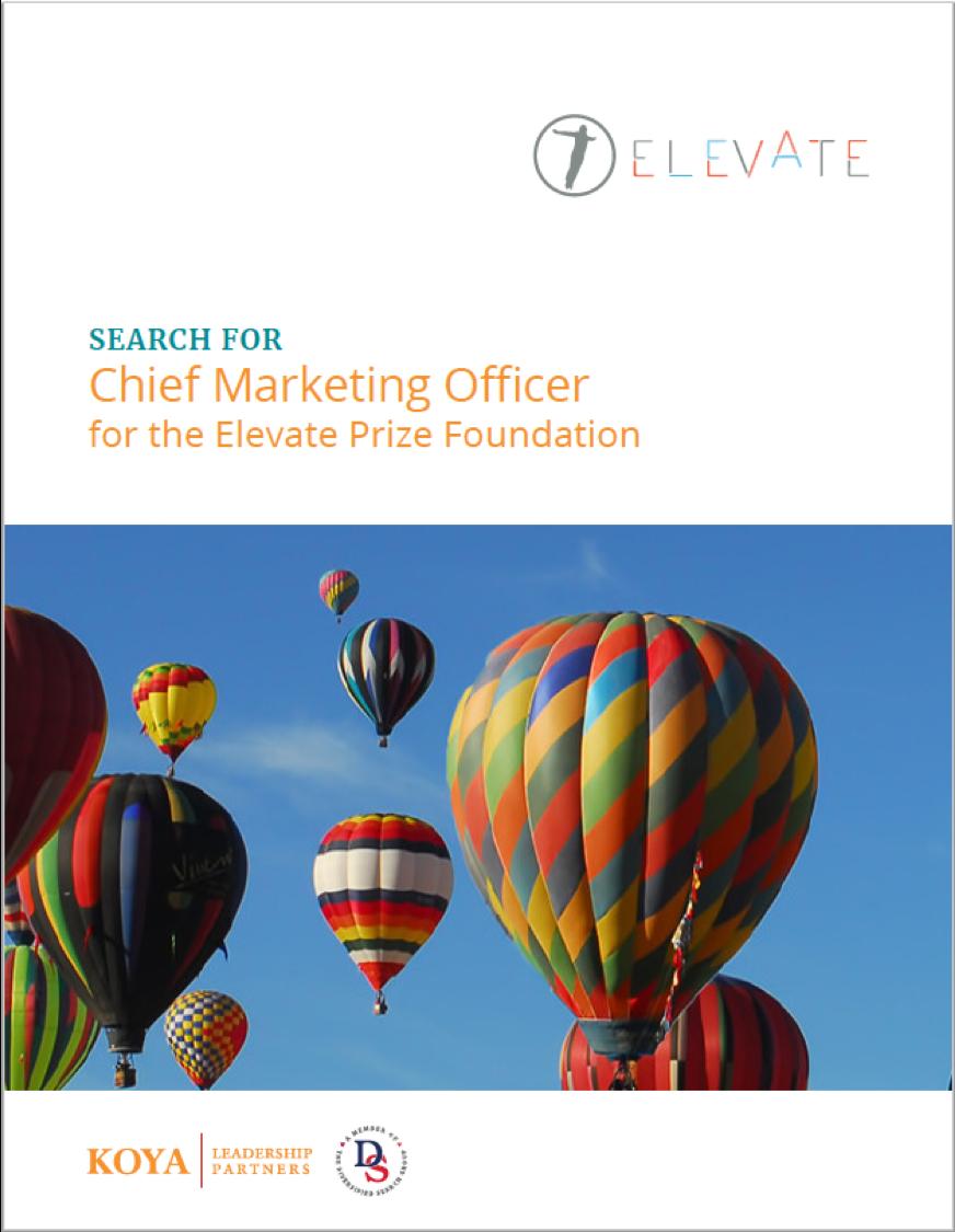 Elevate Prize CMO